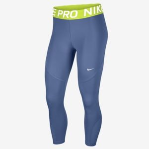 Nike Womens Compression Athletic Cropped Pants